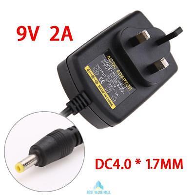 9V AC/DC Universal Power Supply Mains Transformer Power Supply Adapter UK Plug