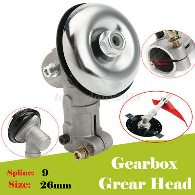 New Gearbox Gearhead To Fit Various Strimmer Trimmer Brush Cutter 26Mm 9 Spline