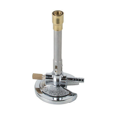 New Adjustable Rotatable Bunsen Burner Laboratory Equipment F Dental Medical