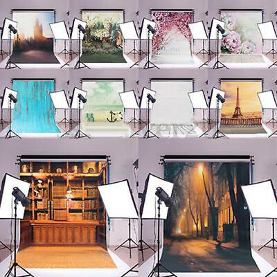 Art Silk Poster Photography Backdrop Wall Decor Photo Background Prop Smart