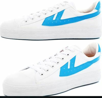 Vintage WARRIOR Huili Shoes WB-1 basketball Sports sneakers Unisex Canvas Shoes