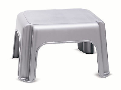 Plastic inox 1-step stool Kid/Child/Baby/Infant/Toddler riser/seat Light Strong