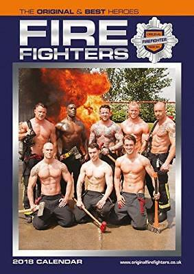 Firefighters 2018 Calendar Official Large A3 Size Uk Wall + Free Uk Postage