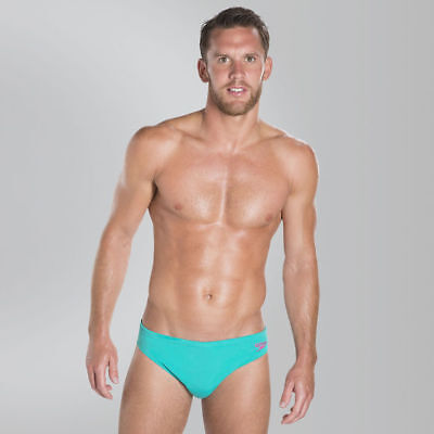 Speedo - Mens Endurance - Solid 5cm Brief AM - Green