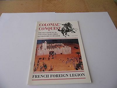 Colonial Conquest  Magazine - Issue 5 French Foreign Legion Historical-Wargamer