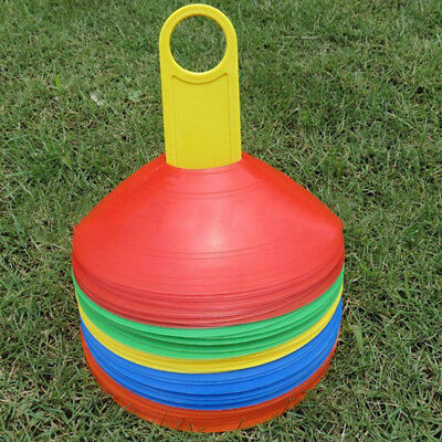 Disc Cone Soccer Football Rugby Marking Coaching Training Agility Sport Smart