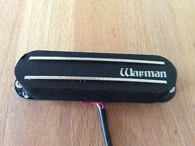 Warman Peacemaker warm rail - single coil sized humbucker can be coil tapped