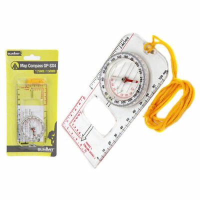 Waterproof Map Compass With Lanyard GP-SX4  Summit For Hiking Orienteering  DofE