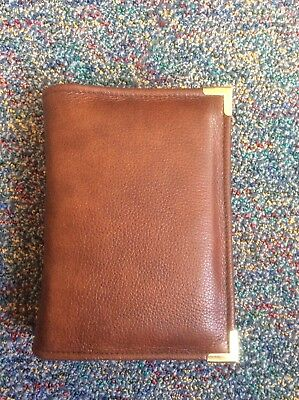Genuine Conker  leather  bible cover for pocket NWT (nwtpkt-E)