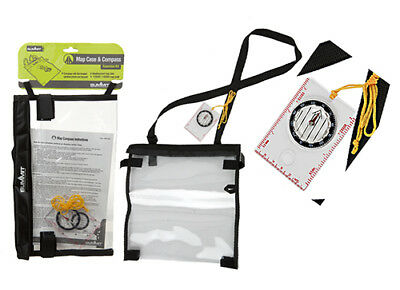 Weatherproof Map Case And Compass With lanyard - Summit