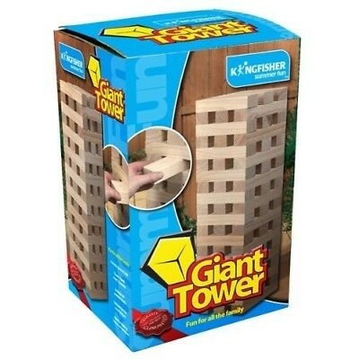 Toy Gift Game Kingfisher Giant Tower Blocks Game - Wood Creative Game For Family