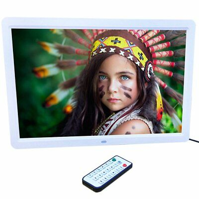 New 15 inch HD  LED Digital Photo Picture Frame MP3 MP4 Movie+Remote Control #OZ