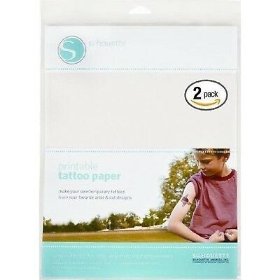 Silhouette Temporary Tattoo Paper (2 pack)