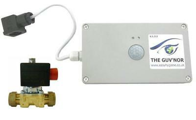 PIR Sensor +VALVE URINAL Water Saver Management Battery Powered Flush Controller