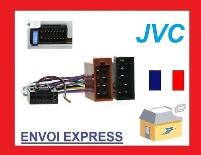 JVC CAR RADIO Cable Radio Adapter Plug Din ISO 16 Pin Wiring ... Jvc Pin Wiring Harness on 7 way trailer wiring harness, jvc car stereo wiring harness, automotive wire connector wiring harness,