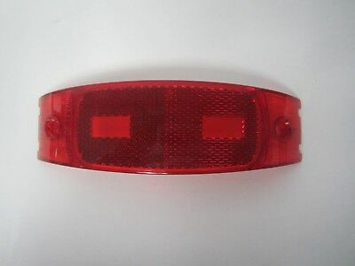 Grote 91172 Red Clearance Marker Light Cover Lens (Lot Of 9)