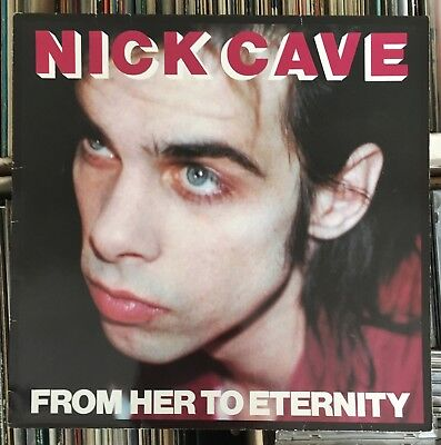 NICK CAVE ~ FROM HER TO ETERNITY ~ German 1st press ~ W. INNER SLEEVE ~ VG++