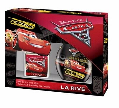 (5,00€/100ml) LA RIVE DISNEY CARS EDT 50 ML+ DUSCHGEL 250ml KINDER