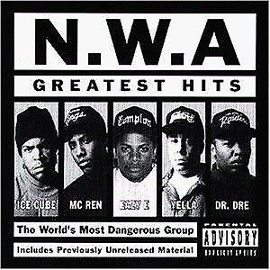 2 x LP: N.W.A. - Greatest Hits - Priority Records - 72435-40932-1-0
