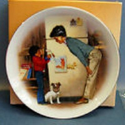 Creation of Love Mother's Day - Porcelain Mini Plate - 1985