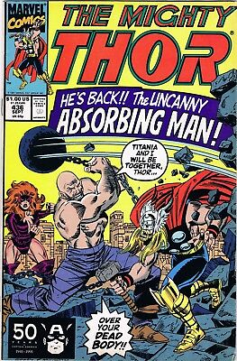 The Mighty Thor #436 (1991) Marvel Comics