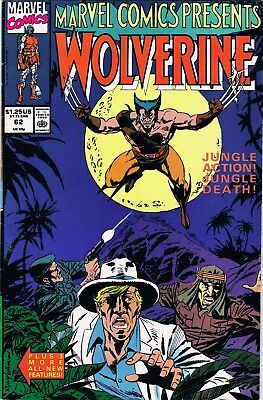 Marvel Comics Presents Wolverine #62 (1990) Marvel Comics