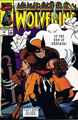 Marvel Comics Presents Wolverine #44 (1990) Marvel Comics