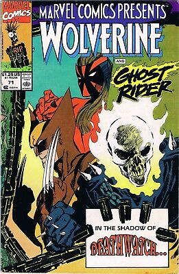 Marvel Comics Presents Wolverine #71 (1991) Marvel Comics