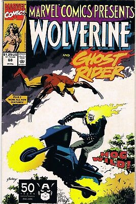 Marvel Comics Presents Wolverine #68 (1991) Marvel Comics