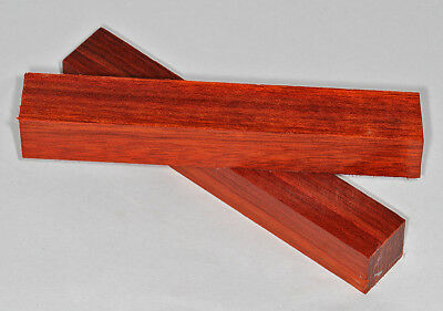 Pen Blanks Padauk African Wood Turning Blanks Medium 130mm Two Pack