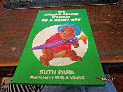 THE MUDDLE-HEADED WOMBAT ON A RAINY DAY by RUTH PARK. RARE FIRST EDITION.