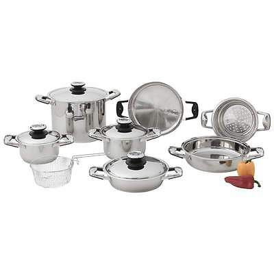 Chef's Secret 22pc,K22,12Element High-Quality Heavy Duty Stainless Cookware set
