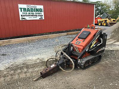 2007 Ditch Witch SK350 Tracked Skid Steer Loader w/ Breaker!