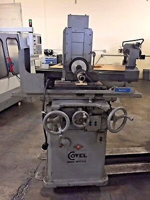 Covel  618 2 axis auto surface grinder w/5C spin jig