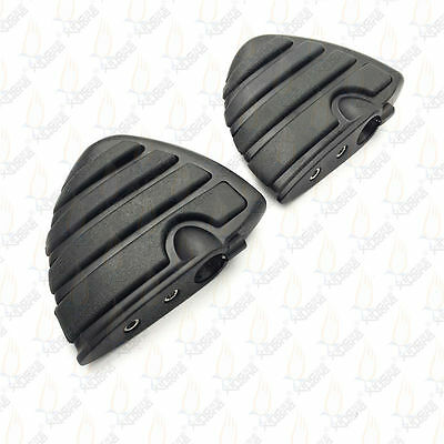 Universal ISO Wing Mini Floorboards without Adapters For Kuryakyn pegs adapter