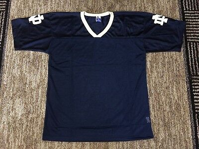 Vintage Deadstock Notre Dame Fighting Irish Blank Champion Football Jersey Xl
