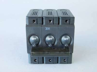 ETA 3-Pole, 30 Amp Circuit Breaker 8345-B03A-T3T2-DB1B2C - NEW Surplus!