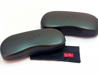 Ray-Ban Eyeglass & Sunglass Cases New! Black