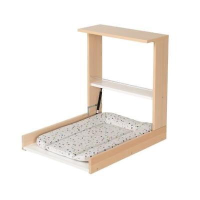 Geuther Table A Langer Murale Wicki Naturelle Matelas A