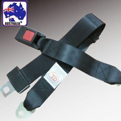 1pc Universal Travel Adjustable Seat Belt Lap Strap Safety Assembling VSBEL2245