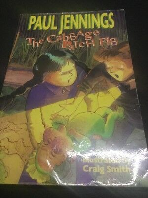 """""""The Cabbage Patch Fib"""" Paul Jennings ISBN 9780140377699 Easy Chapter Book"""