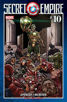 Secret Empire #10 (Of 10) (2017) 1St Printing Bagged & Boarded Marvel