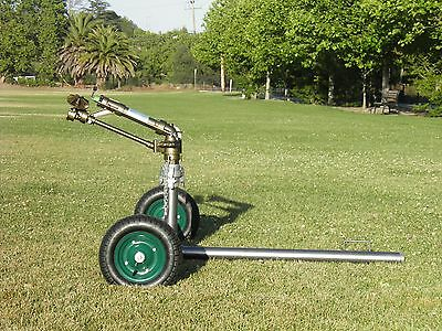 "New Yuzauk Jet 35T 2"" Gear Drive Rain Gun Sprinkler With New 2"" Gun Cart"