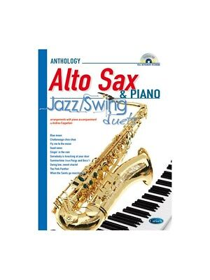 Jazz Swing Duets for Alto Sax & Piano Learn to Play MUSIC BOOK & CD SAXOPHONE
