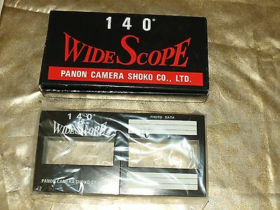 NEW GENUINE ORIGINAL WIDELUX PANON SLIDE MOUNTS WIDE SCOPE 140 in FACTORY BOX