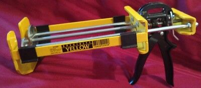 Specialty Yellow Dripless DC900 Dual Component Applicator Dual Cartridge Capac