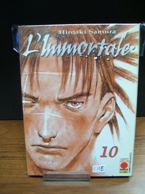 L' Immortale Volume 10  Prima Edizione  Planet Manga