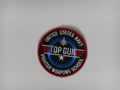 Patch écusson top gun united states navy fighter weapons school