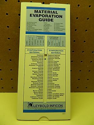 Leybold Inficon Material Deposition Guide BT123