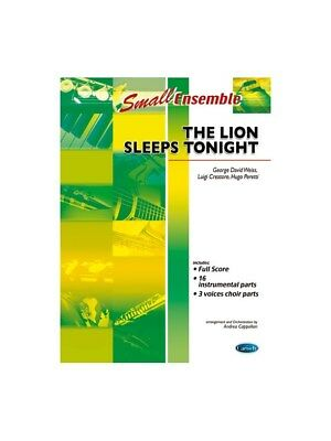 The Lion Sleeps Tonight From The Lion King Learn to Play MUSIC BOOK Ensemble